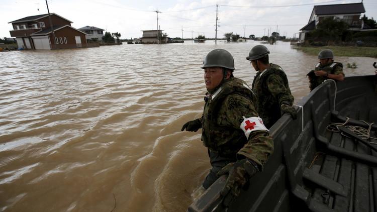 قتلى ومفقودون في فيضانات تجتاح جنوب اليابان