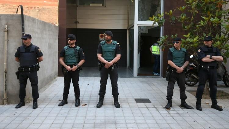 مجهول يصيب رجلي شرطة في إسبانيا