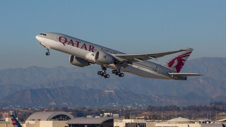 طيران قطر تعفى من حظر