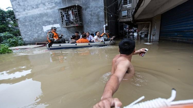 الفيضانات تقتل أكثر من 40 شخصا في الصين
