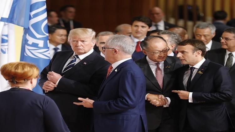 ترامب يمتدح نفسه في قمة العشرين