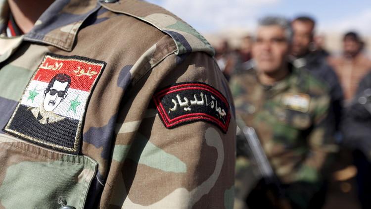 الجيش السوري ينعي العميد