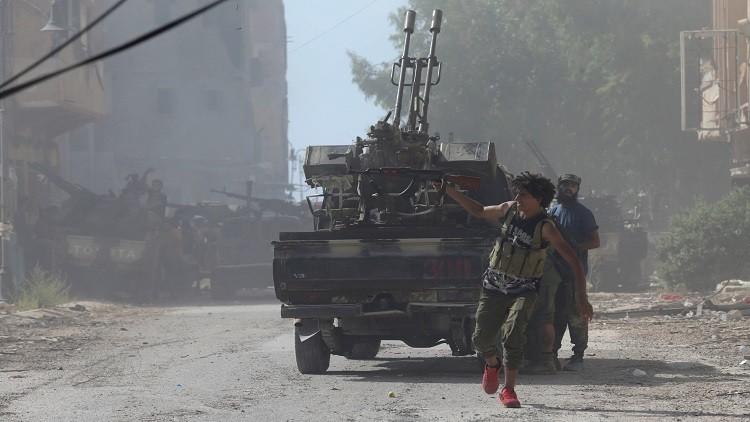 تواصل الاشتباكات في بنغازي الليبية