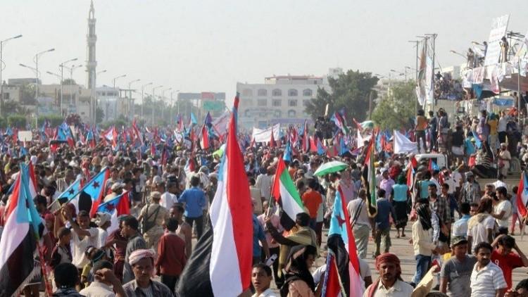 آلاف اليمنيين يتظاهرون في عدن للمطالبة بانفصال الجنوب
