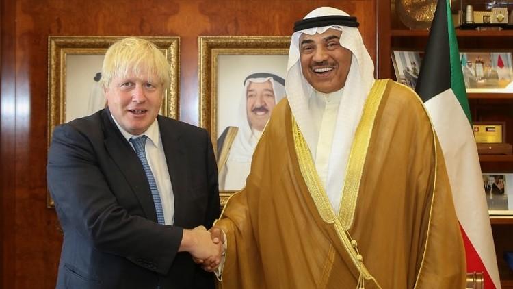 جونسون: يمكن تحقيق تقدم غير فوري لتخفيف التوتر مع قطر