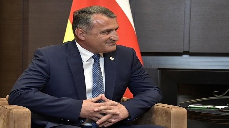 رئيس جمهورية أوسيتيا الجنوبية اناتولي بيببلوف
