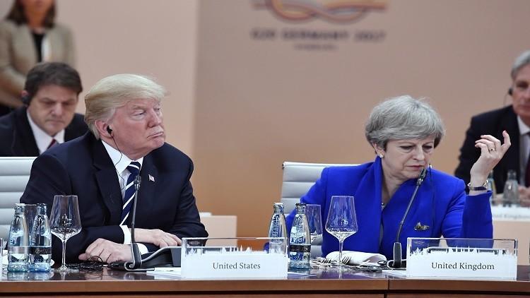واشنطن ولندن نحو تعاون تجاري