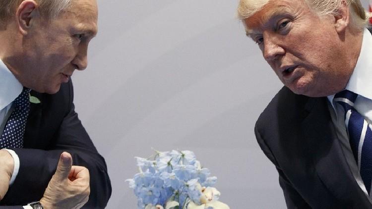 ماذا قال بوتين لترامب عقب مراسم التصوير؟