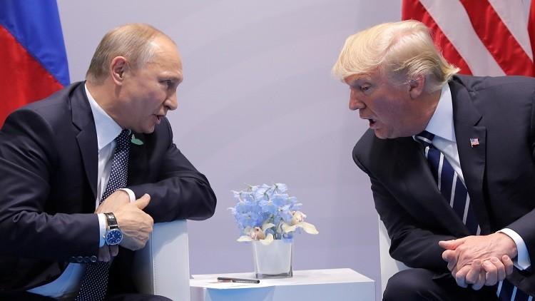 ترامب : إلغاء العقوبات ضد روسيا يبدأ بعد التسوية في سوريا وأوكرانيا