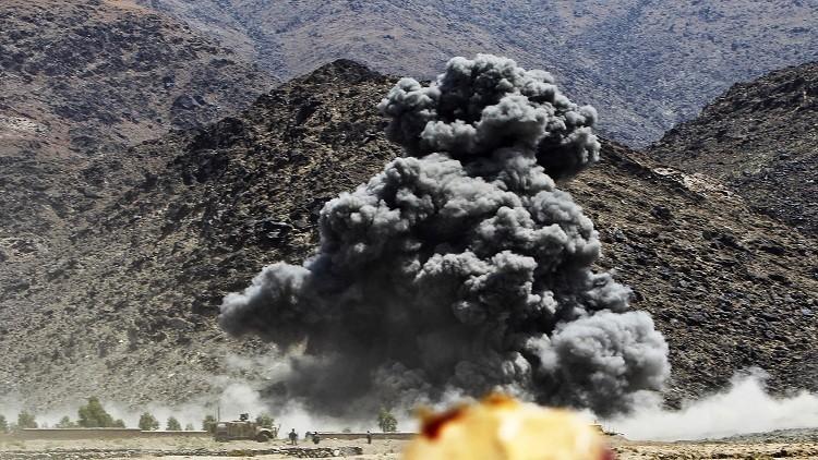 غارة جوية تقطف 5 رؤوس من نخبة داعش في أفغانستان
