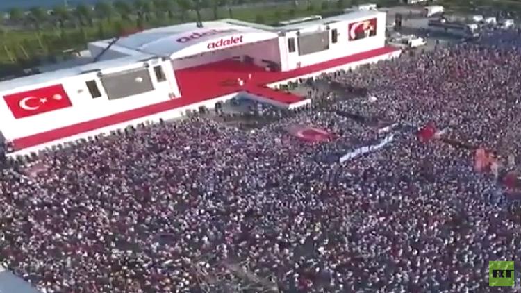 مظاهرات ضد الحكومة في تركيا