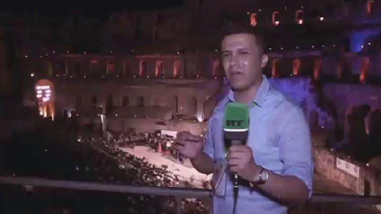 افتتاح مهرجان الجم الدولي في تونس