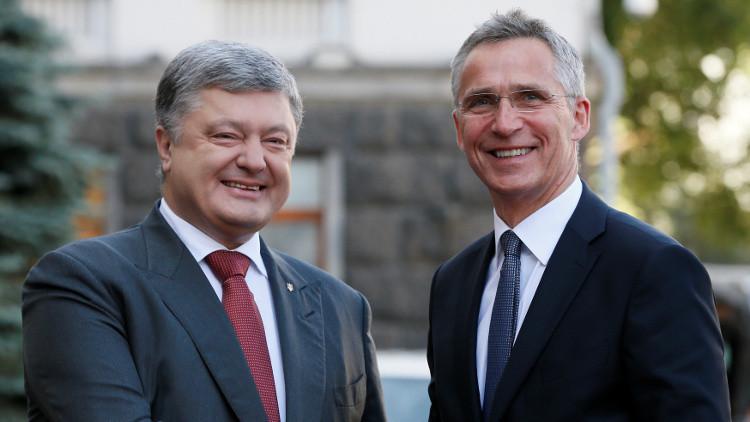 الناتو يجدد دعمه لأوكرانيا ويدعو لتنفيذ اتفاقات مينسك