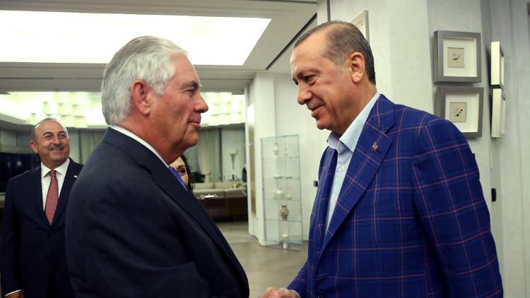 تيلرسون يعلن عن بدء استعادة الثقة في العلاقات مع تركيا