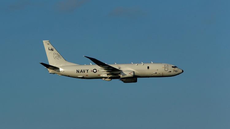 الطيران الحربي الأمريكي يقوم بجولة استطلاعية قرب سواحل سوريا