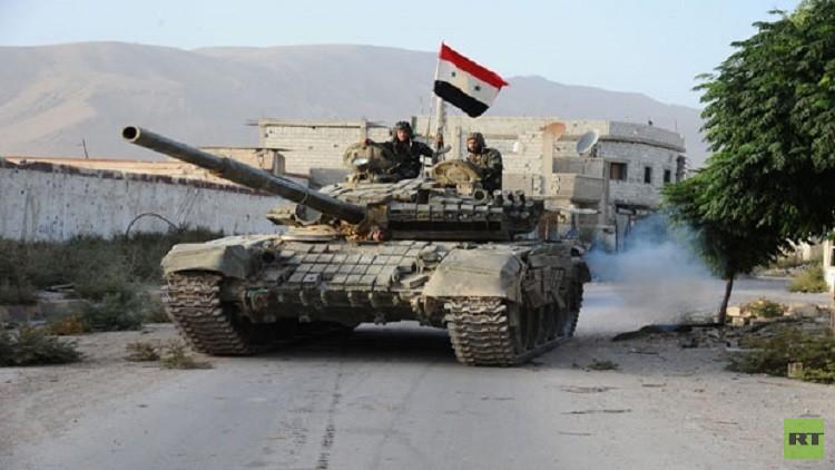 على خريطة سوريا وُضعت نقطة غير ساخنة