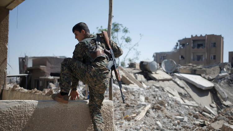 اشتباكات بين الأكراد والقوات التركية شمال غرب سوريا