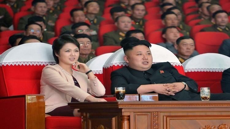 سيدة كوريا الشمالية الأولى تحتفل بإطلاق صاروخي ناجح