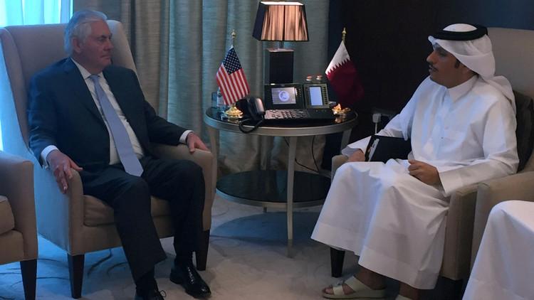 مذكرة أمريكية قطرية لمكافحة تمويل الإرهاب والدوحة تدعو دول المقاطعة للانضمام للمذكرة
