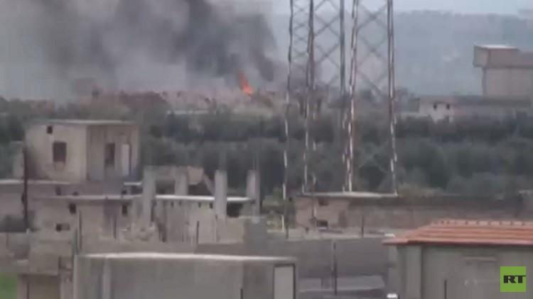 مقتل ضابط روسي في هجوم مسلح على موقع للجيش السوري بضواحي حماة