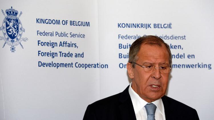 لافروف: سوريا تشهد تغيرات إيجابية بعد الاتفاق على تخفيف التوتر