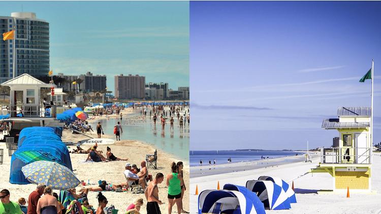 كيف تبدو أشهر شواطىء العالم في الحقيقة؟