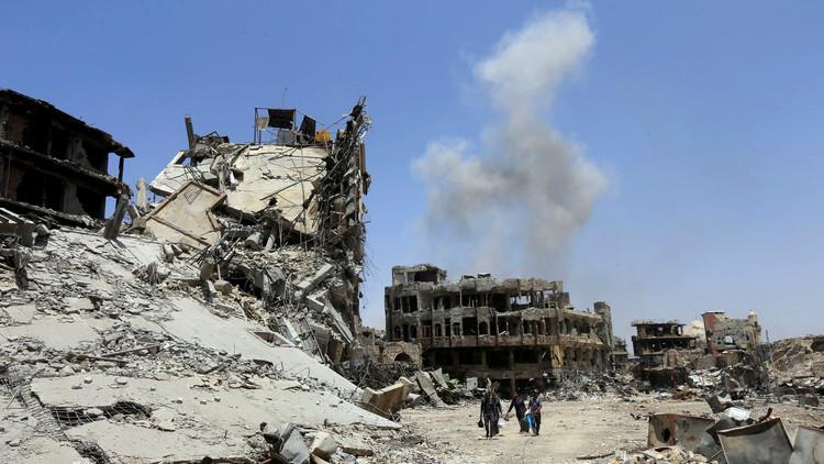 منظمة: مقتل نحو 750 مدنيا بقصف التحالف خلال شهر في سوريا والعراق