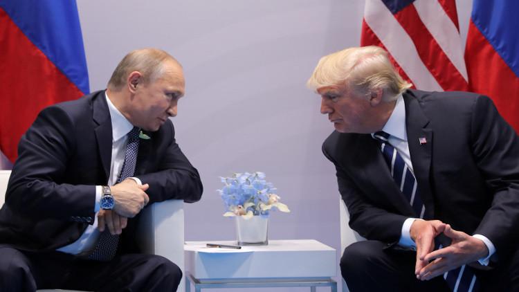 ترامب يصف محادثاته مع بوتين في هامبورغ بـ