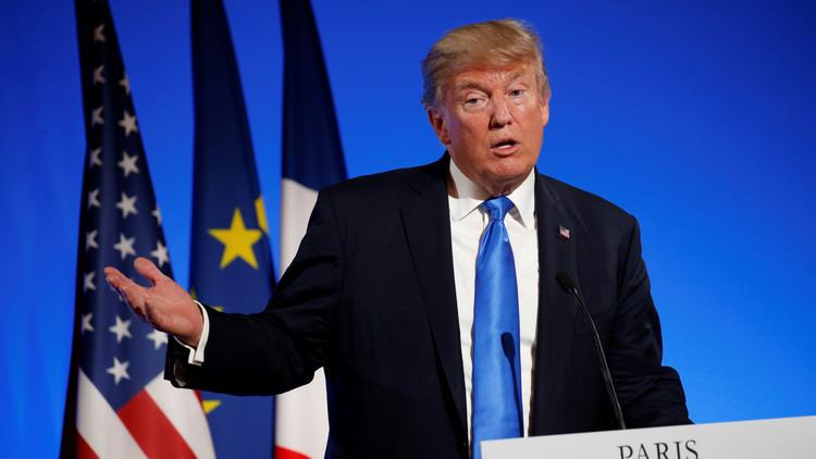ترامب: نعمل على اتفاق حول وقف إطلاق النار في منطقة جديدة بسوريا