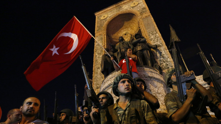 العدل التركية: 169 ألف مشتبه بانتمائهم إلى تنظيم غولن على خلفية محاولة الانقلاب
