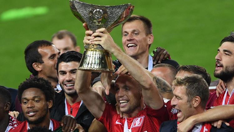 سبارتاك موسكو بطلا لكأس السوبر لأول مرة في تاريخه