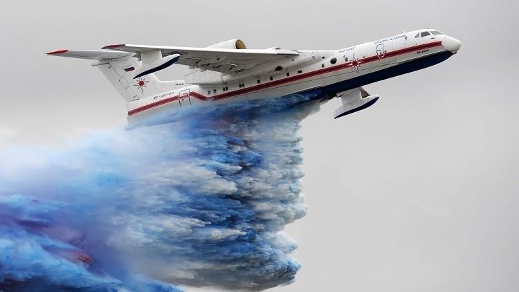 مقارنة بين طائرة BE-200 البرمائية الروسية و 415 Bombardier الكندية (ماكس 2017)