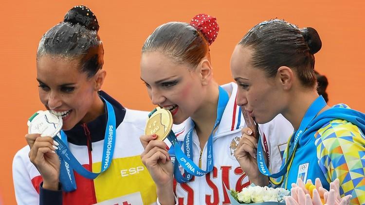 روسيا تحصد أول ذهبية في بطولة العالم للألعاب المائية