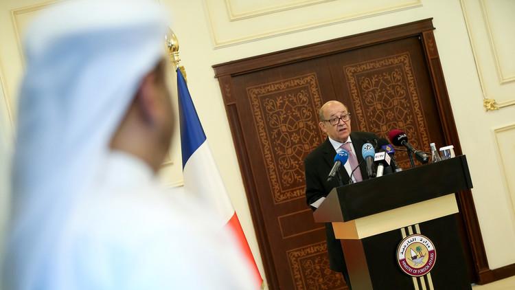 باريس تدعو إلى رفع العقوبات عن قطر في أسرع وقت