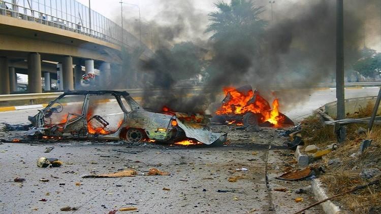 قتيل و7 مصابين في تفجير سيارة مفخخة شرق بغداد