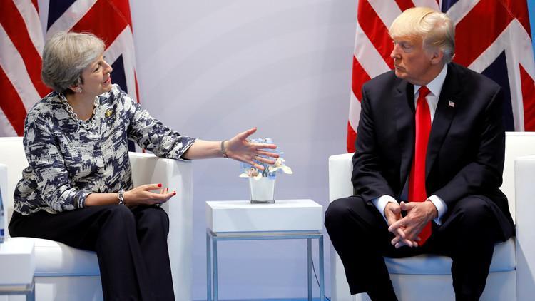 ترامب يضع شروطا أمام ماي لزيارة بريطانيا