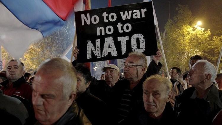 إنهم يدفعون الجبل الأسود إلى الاحتجاجات