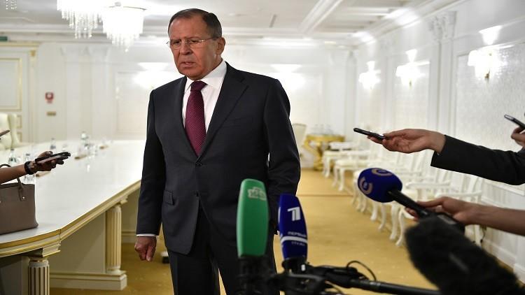 لافروف يصف حجز واشنطن لممتلكات روسية بـ