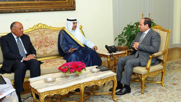 خلال لقائه وزير الخارجية الكويتي.. السيسي يؤكد أهمية التصدي