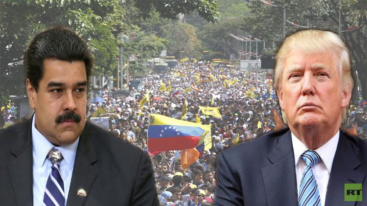 ترامب يتوعد مادورو