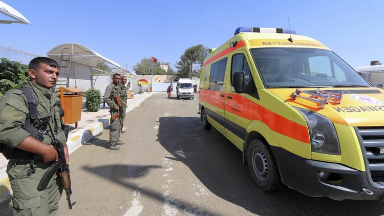 مقتل 4 بتفجير سيارة مفخخة في معبر تابع للأسايش شمالي سوريا