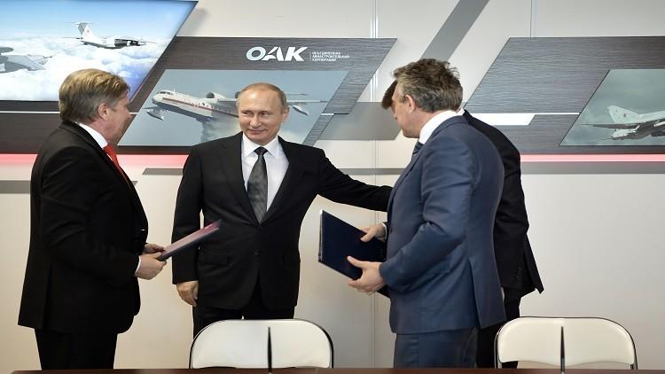 بوتين: سندعم الطيران المدني بـ60 مليار روبل