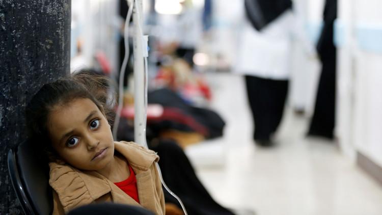 وباء الكوليرا في اليمن يحصد أكثر من 1800 ضحية