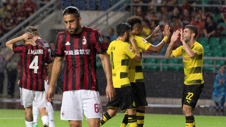 دورتموند يهزم ميلان في كأس الأبطال