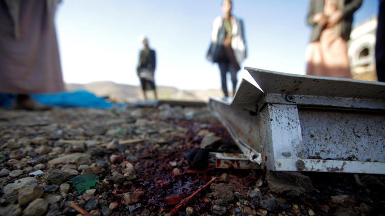 مقتل 20 مدنيا بغارة للتحالف العربي غرب محافظة تعز اليمنية