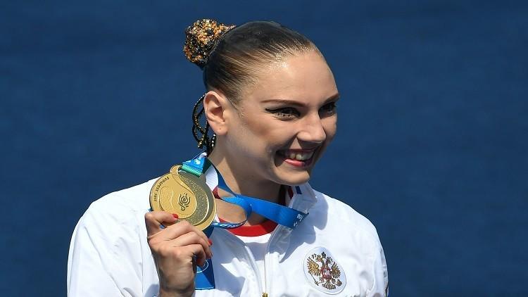 كوليسنيتشينكو تحصد ذهبية جديدة لروسيا في بطولة العالم للألعاب المائية