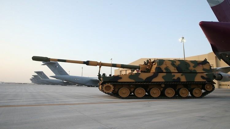 انتهاء نقل القوات إلى القاعدة التركية في قطر