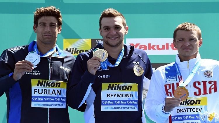 دراتسيف يحرز برونزية سباق 25 كلم في بطولة العالم للألعاب المائية