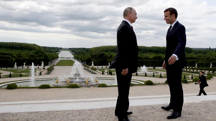 بوتين لماكرون:  سلام إيمانويل!