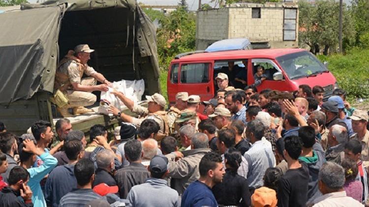 غدا الثلاثاء.. وصول أول قافلة مساعدات روسية للغوطة الشرقية